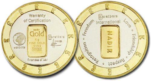 Moneda Exclusiva De 24 Kilates Patente Exclusiva Mundial Para Los Próximos 10 Años Diámetro 35 1mm Espesor 2 2mm M Karatbars Old Friendships Numismatics
