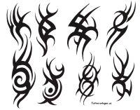 Kleine Tribal Tattoo Vorlagen Tattoo Arts