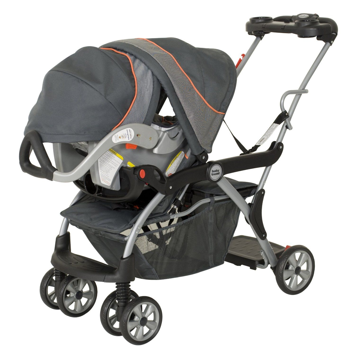 Baby Trend Flex Loc Car Seat Compatible Strollers Best Baby Strollers Baby Trend Double Stroller Baby Strollers