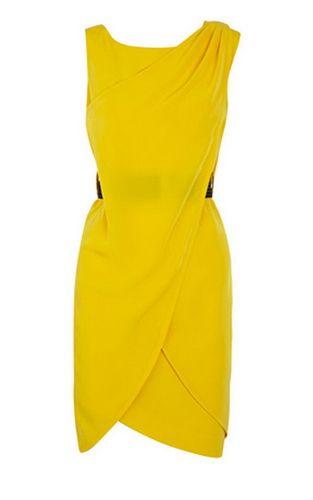 bc79547a6c Karen Millen Modern Shift Dress Yellow | Dresses ♥ | Dresses ...