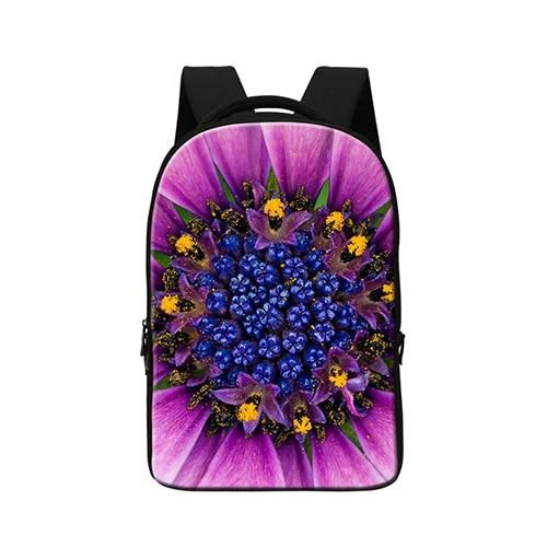 School Smart  Laptop Bag for 14 Inch Devices,women's 3D flower bag Designed for School and Classroom,travling bag