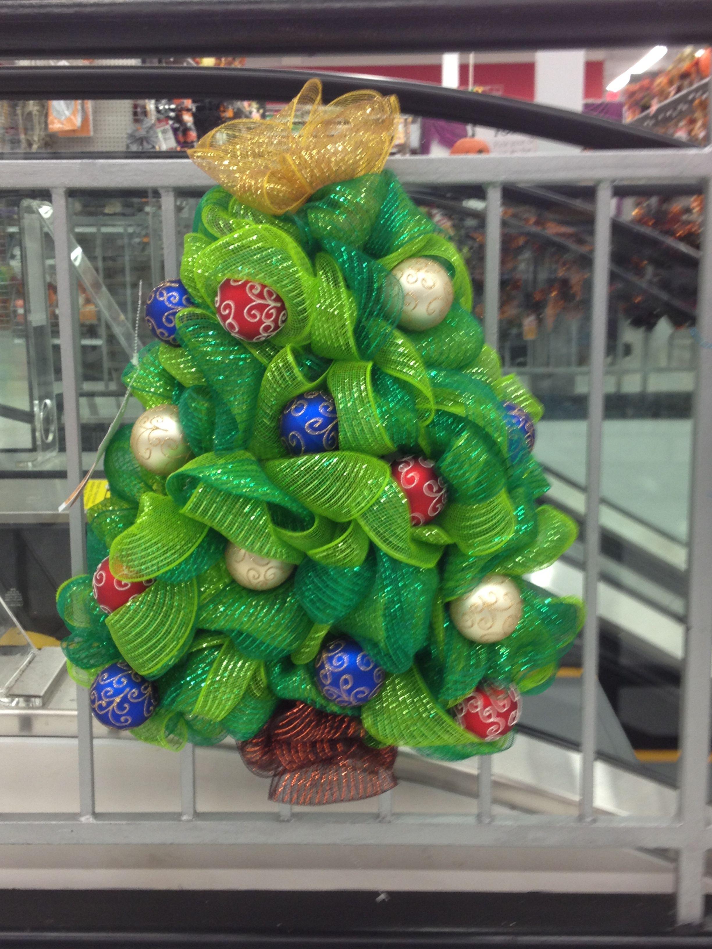 Deco mesh christmas tree michael s brentwood mo