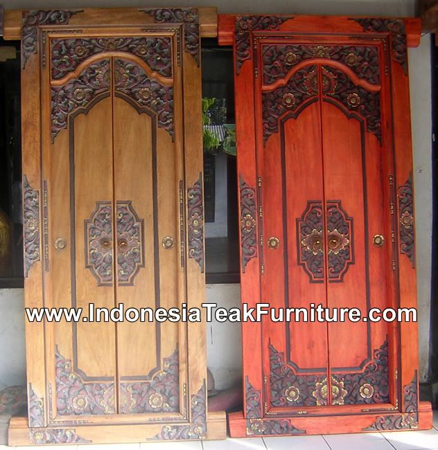 Find this Pin and more on Doors. Balinese ... & Google Image Result for http://www.indonesiateakfurniture.com ... Pezcame.Com