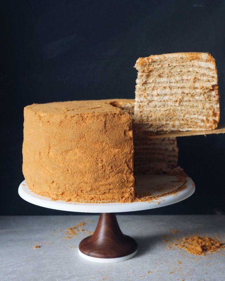My Favorite Cake (Russian Honey Cake from 20th Century ...