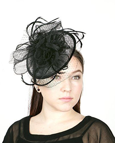 Fascinator, Derby hats, Small hair clips