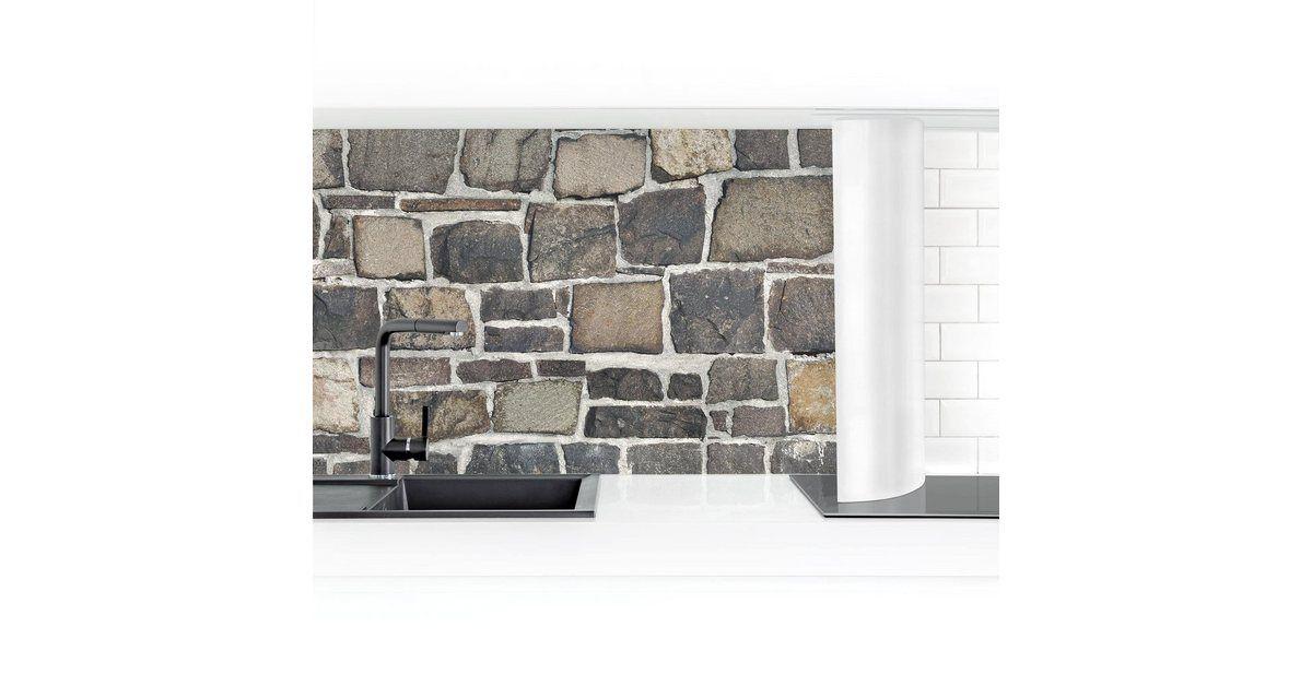 Bilder Kaufen Küche Rückwand »Steinbruch Stein Tapete Natursteinmauer« online OTTO   – Products