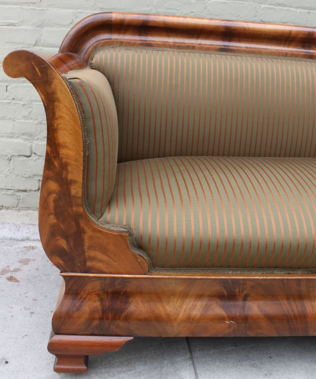 Box Type Sofa Designs: 19th C. American Empire Sofa En 2019