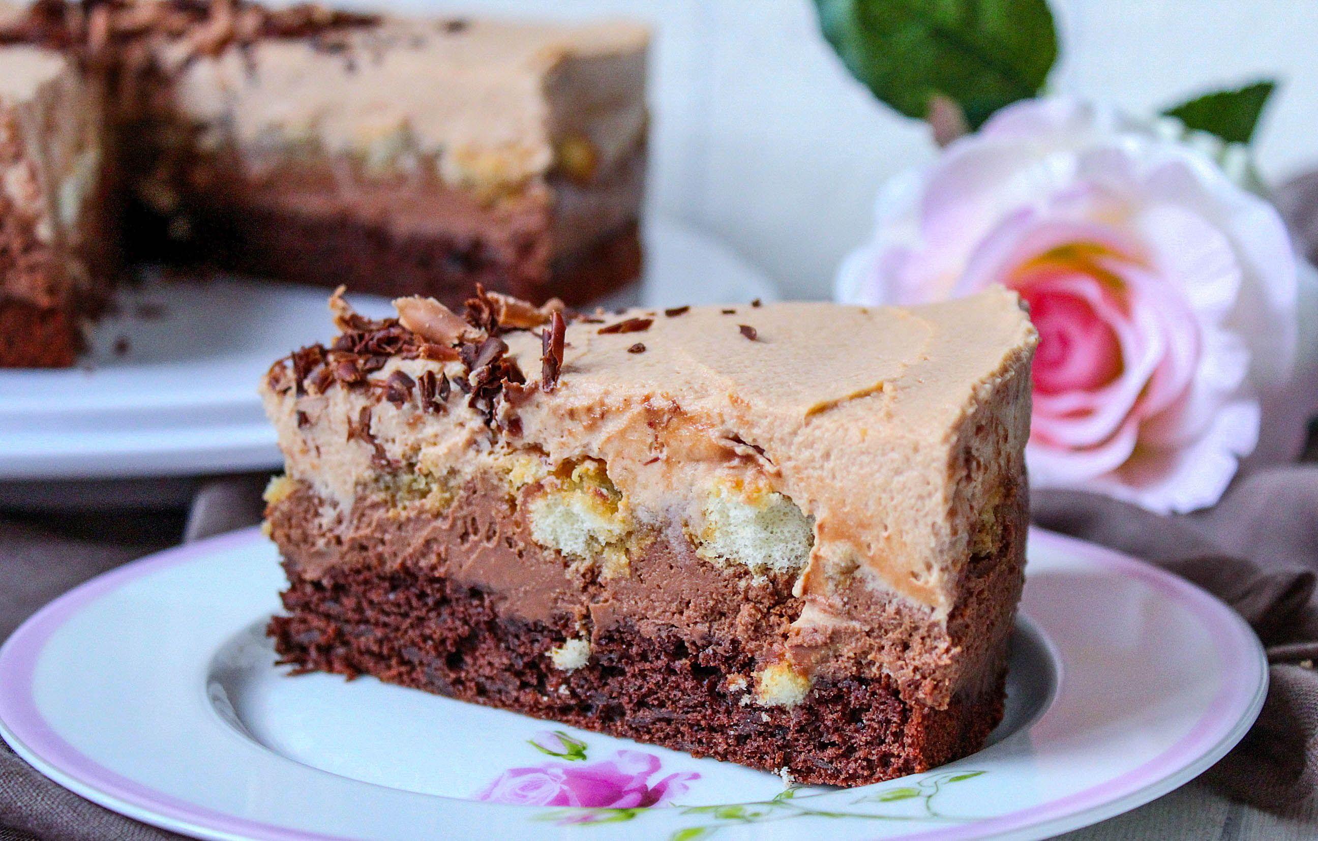 Espresso – Schoko – Torte ♡ in 2020 mit Bildern   Kuchen und torten, Thermomix rezepte kuchen ...