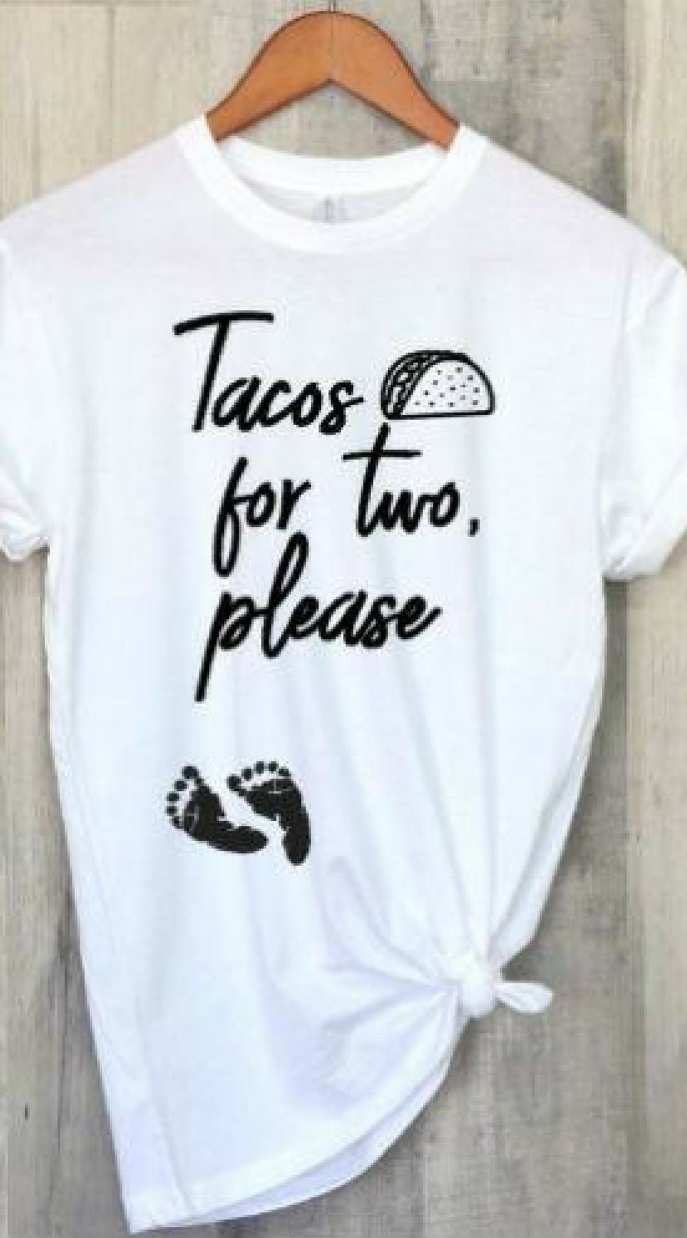 80ab0eb72d748 Pregnancy Announcement Shirt, Funny Tacos Pregnancy T-Shirt, Mom to be T-