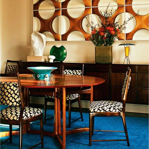 Retro Dining Rooms, Dining Room Design