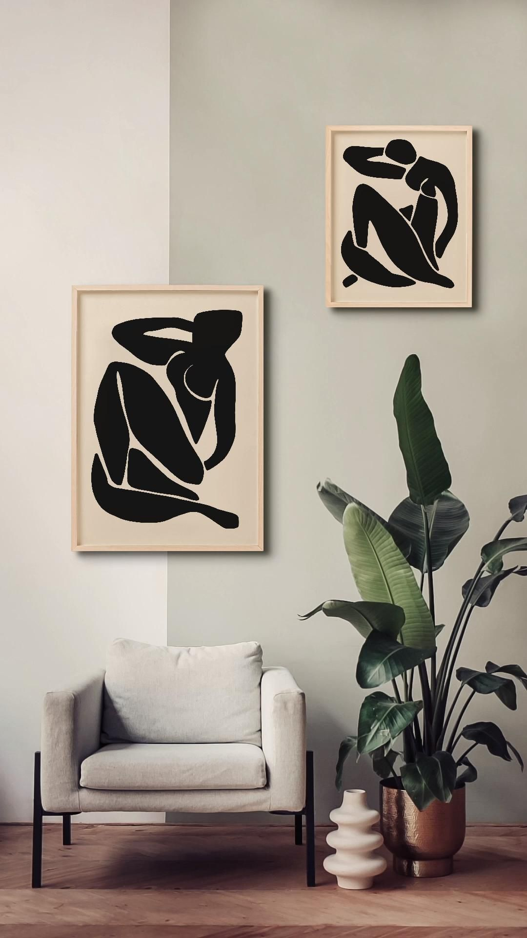 Photo of Matisse Abstract Wall Art