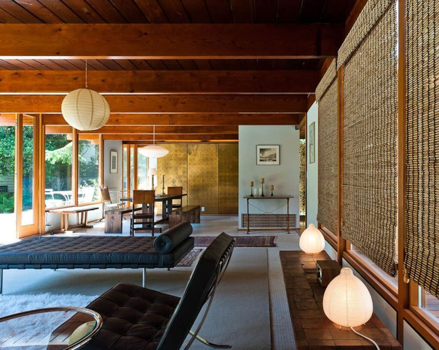 This mid century in West Vancouver by architect Ned Pratt has been ...