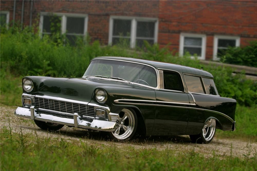 Chevy Nomad 1956 Chevrolet Nomad Chevy Classic Custom