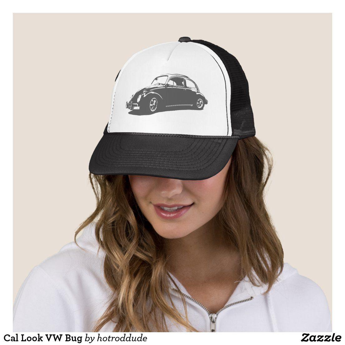 Cal Look VW Bug Trucker Hat in 2020 Trucker, California
