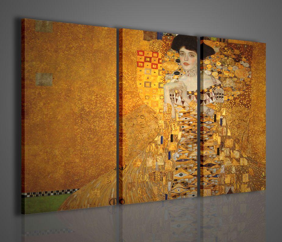 Gustav klimt ii la donna quadri moderni arredamento casa for Quadri decorativi arredamento