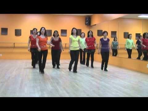 Blue Spanish Eyes -Line Dance (Demo & Teach) - YouTube
