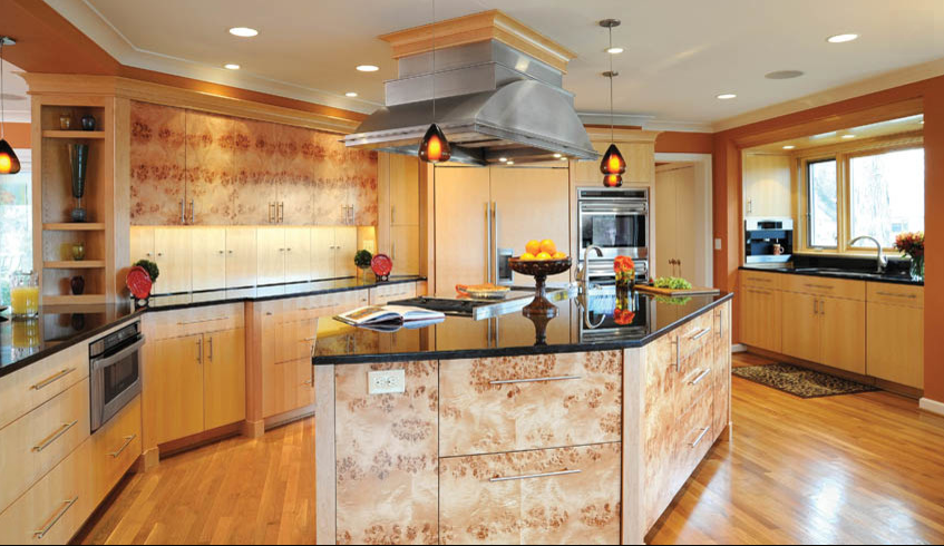 Ma Burl Wood Custom Cabinets From Cooley Cabinetry In Columbus Ohio