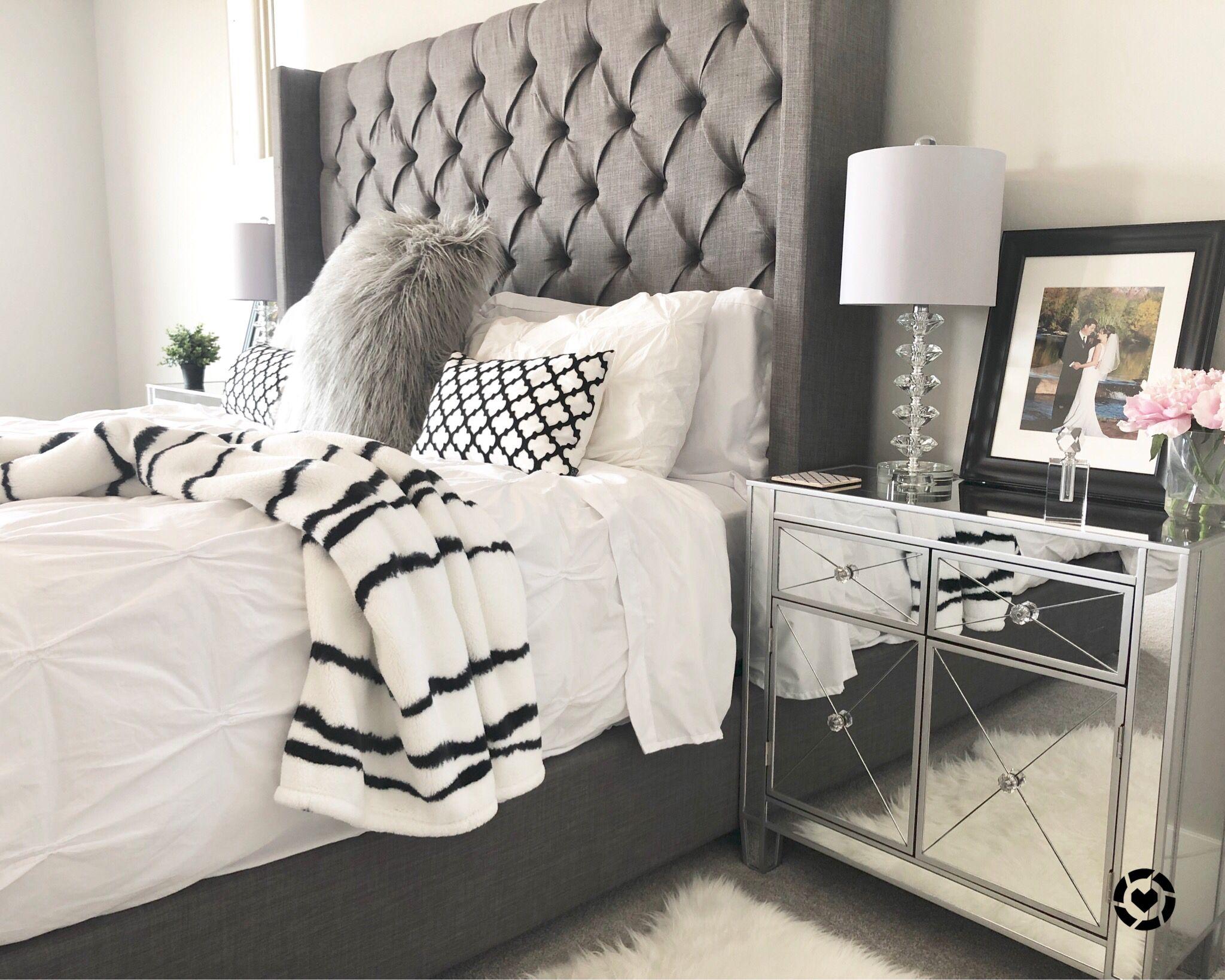 Master Bedroom, Modern Farmhouse Glam my WEBSITE
