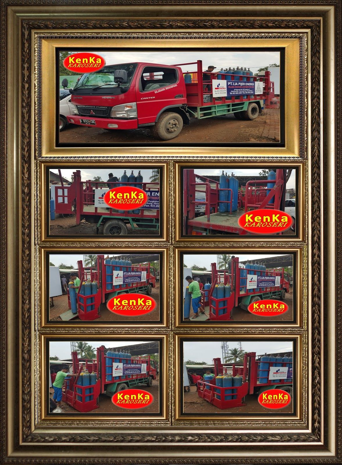 Info Harga Pembuatan Karoseri Truck & Mobil Box