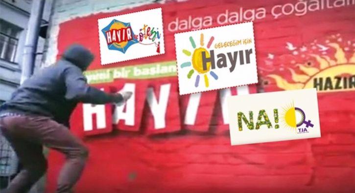 #GÜNDEM CHP'nin 'hayır' logosundaki şoke eden ayrıntı: Gezi olaylarındaki kaos ittifakı yeniden şekilleniyor. PKK sözcü HDP ve terör…