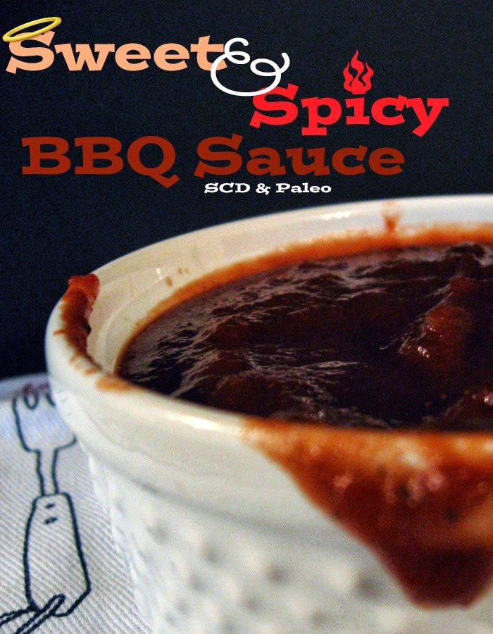 Sweet And Spicy Bourbon Barbecue Sauce Scd And Paleo With