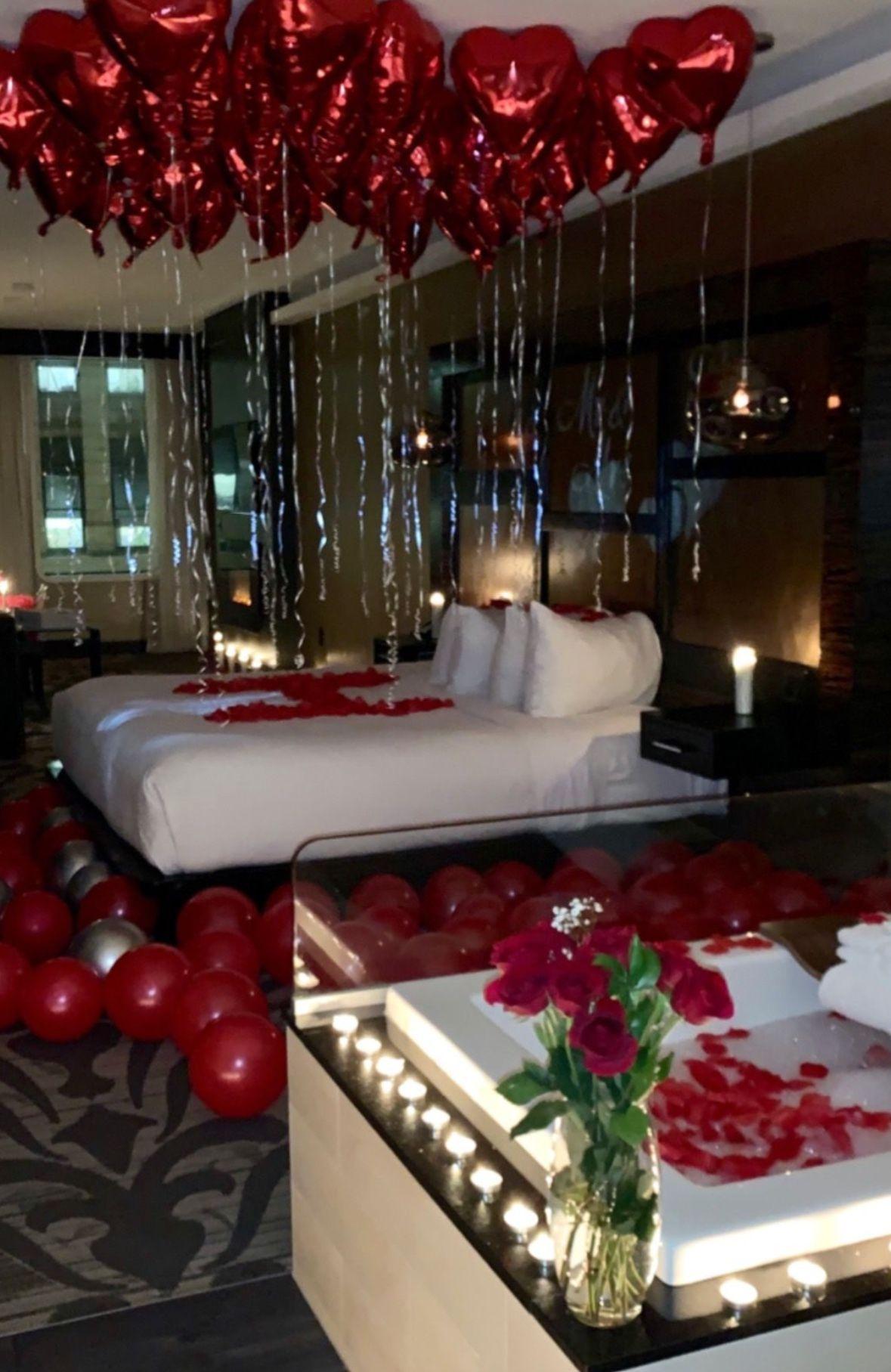 AnniversarySurprise in 2020 Romantic room surprise