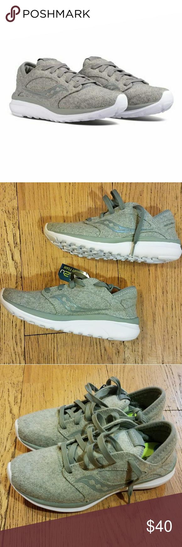 SOLD! Saucony Kineta Relay Wool Sneaker