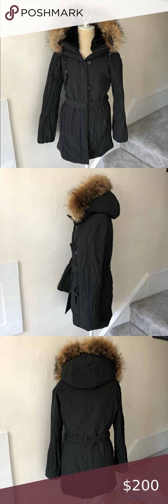 Vince Cotton Metal Fox Fur Trim Hooded Puffer Coat In 2021 Puffer Coat Faux Fur Trim Coat Down Puffer Coat [ 1740 x 580 Pixel ]