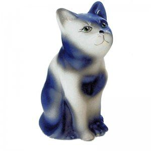 Cat Figurine Black And White Gl 5243 43 00 Fountainlady Music Bo
