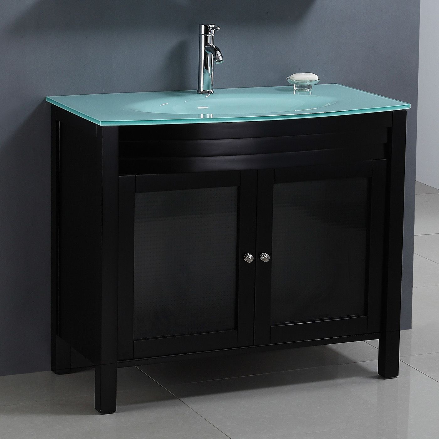 Attirant Legion Furniture WA2140 Modern 39 In Single Sink Chest Bathroom Vanity