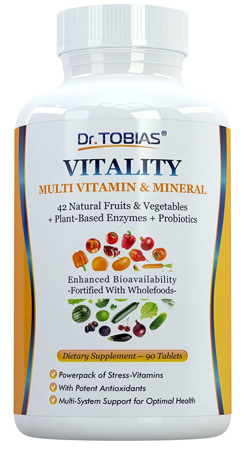 Dr tobias multivitamin and mineral plus enzymes