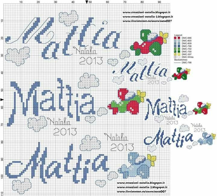 Mattia alfabeto cross stitch baby cross stitch e c2c for Alfabeto disney a punto croce