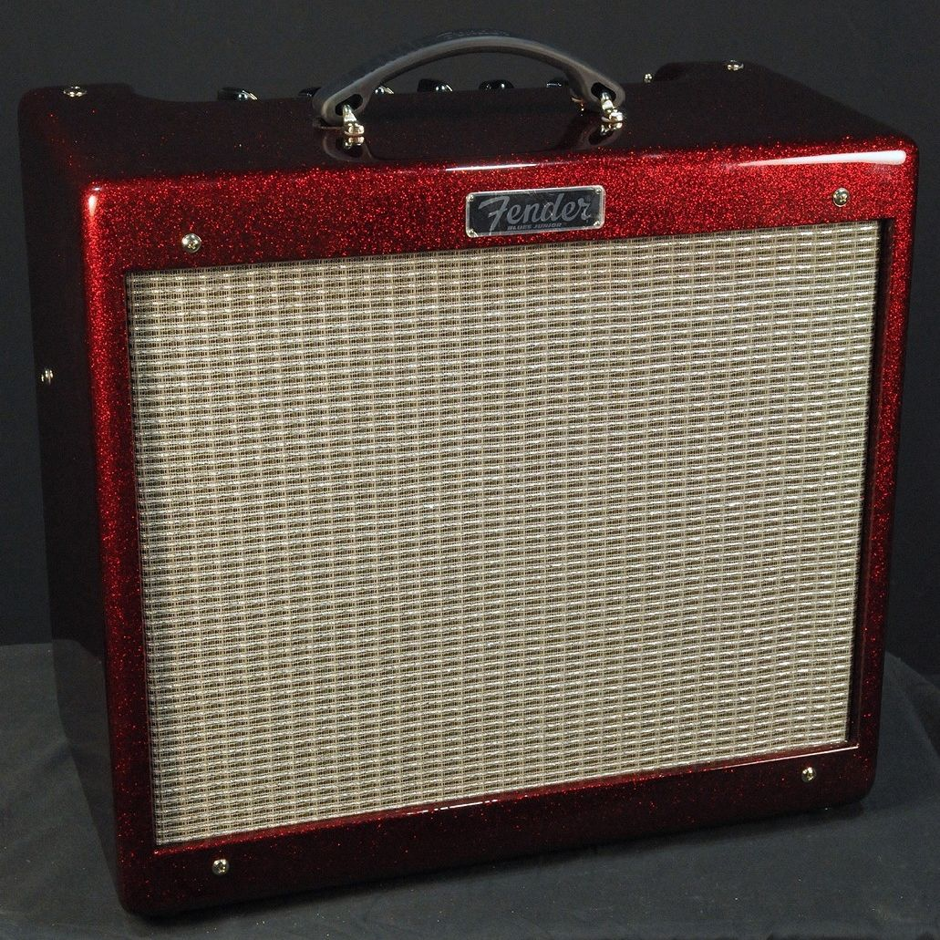 Fender Blues Junior III Limited Edition Ruby Red Sparkle