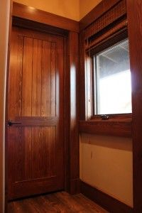 Interior Douglas Fir Door Sustainable Lumber Company Exterior