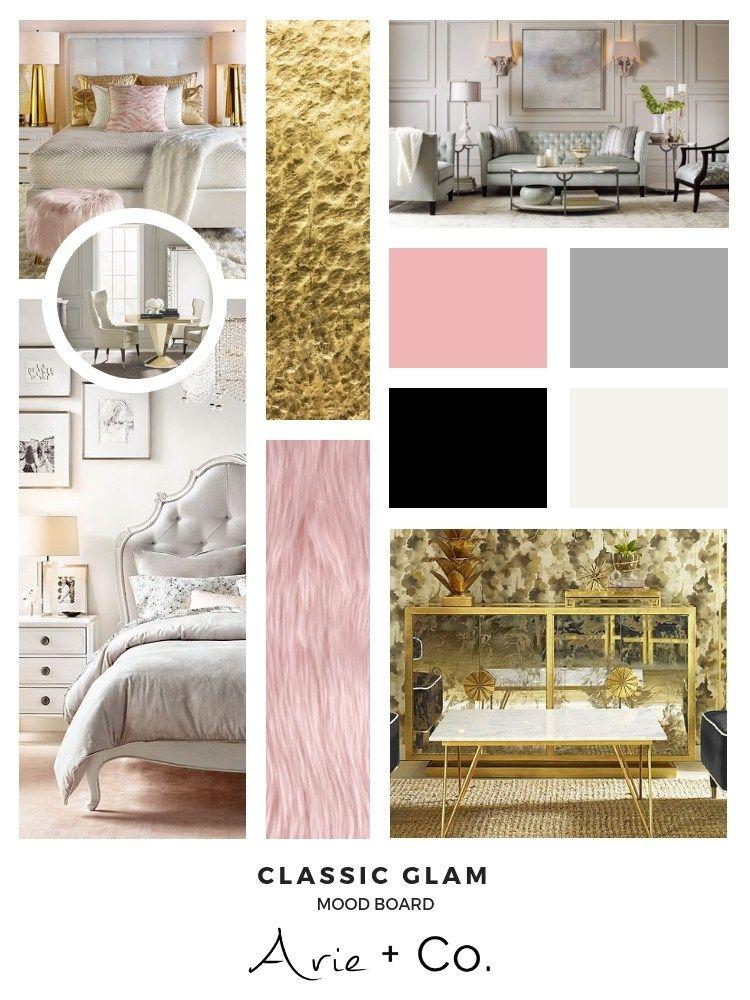 Classic glam interior design style files interior
