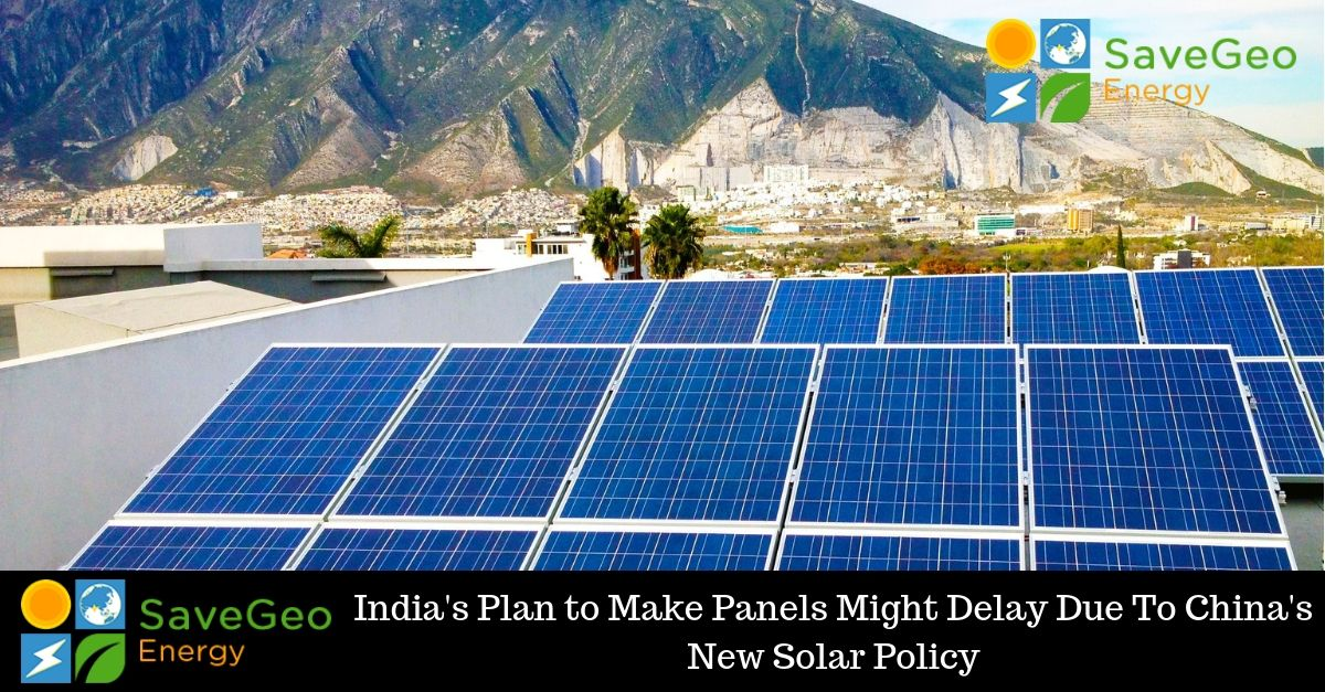 The Impact On India With China S New Solar Power System Policy With Images Solar Power System Solar Solar Power