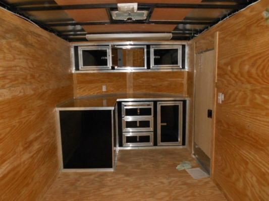 Enclosed Trailer V Nose Cabinets Enclosed Trailer Cabinets
