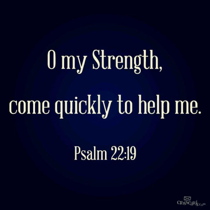 Psalm 22:19 9-28-13