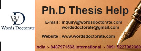 Thesis writing company india