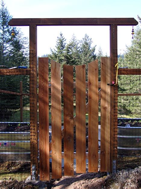 deer proof garden fence gate gardening pinterest. Black Bedroom Furniture Sets. Home Design Ideas