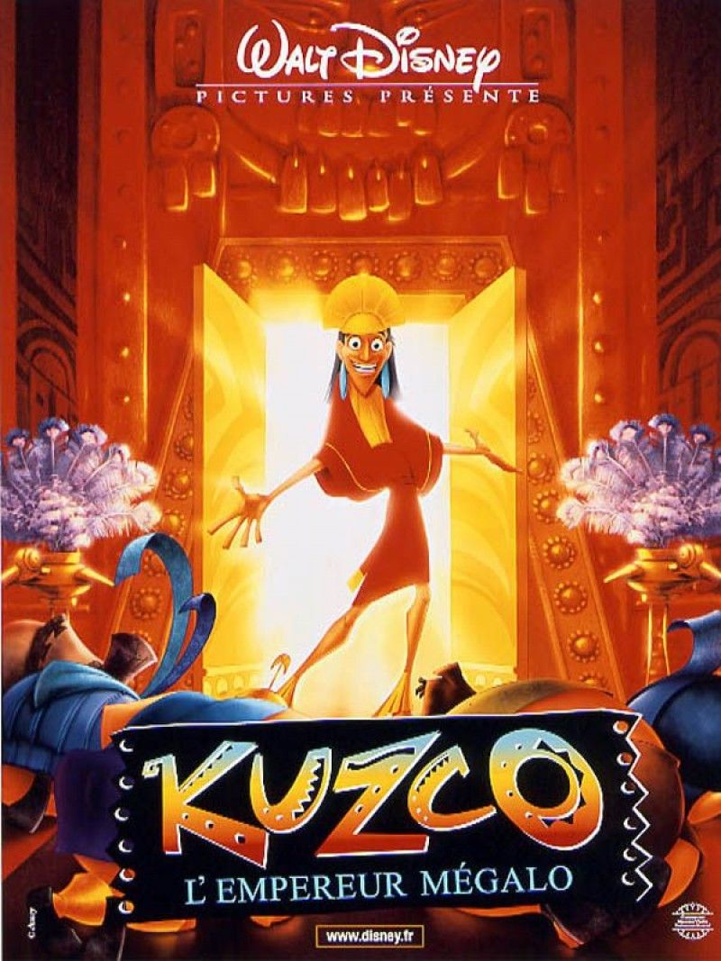 Kuzco l 39 empereur m galo the emperor 39 s new groove mark dindal 2000 films vus en 2015 - Kuzco dessin anime ...