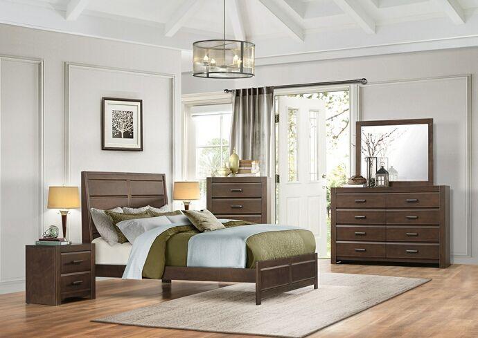 Homelegance 1961 5pc 5 Pc Erwan Espresso Finish Wood Paneled Bedroom Set With Images King Bedroom Sets California King Bedroom Sets Bedroom Panel