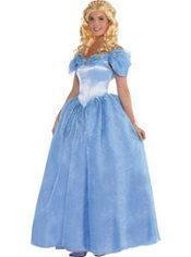 Adult Cinderella Costume - Cinderella 2015 Live Action  sc 1 st  Pinterest : cinderella costume ideas  - Germanpascual.Com