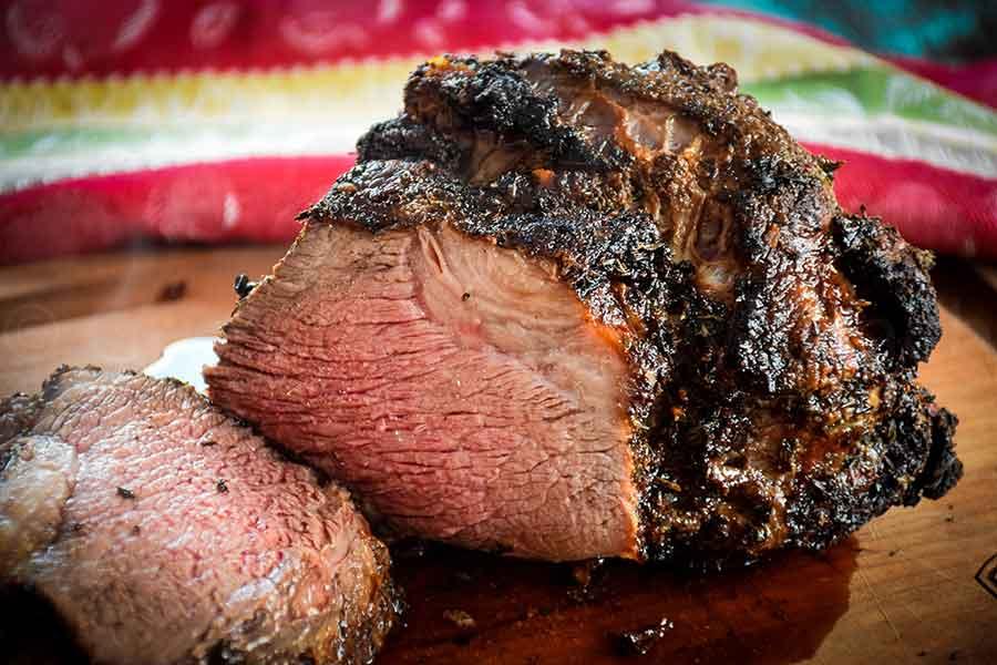 Air Fryer Roast Beef with Herb Crust Recipe in 2020