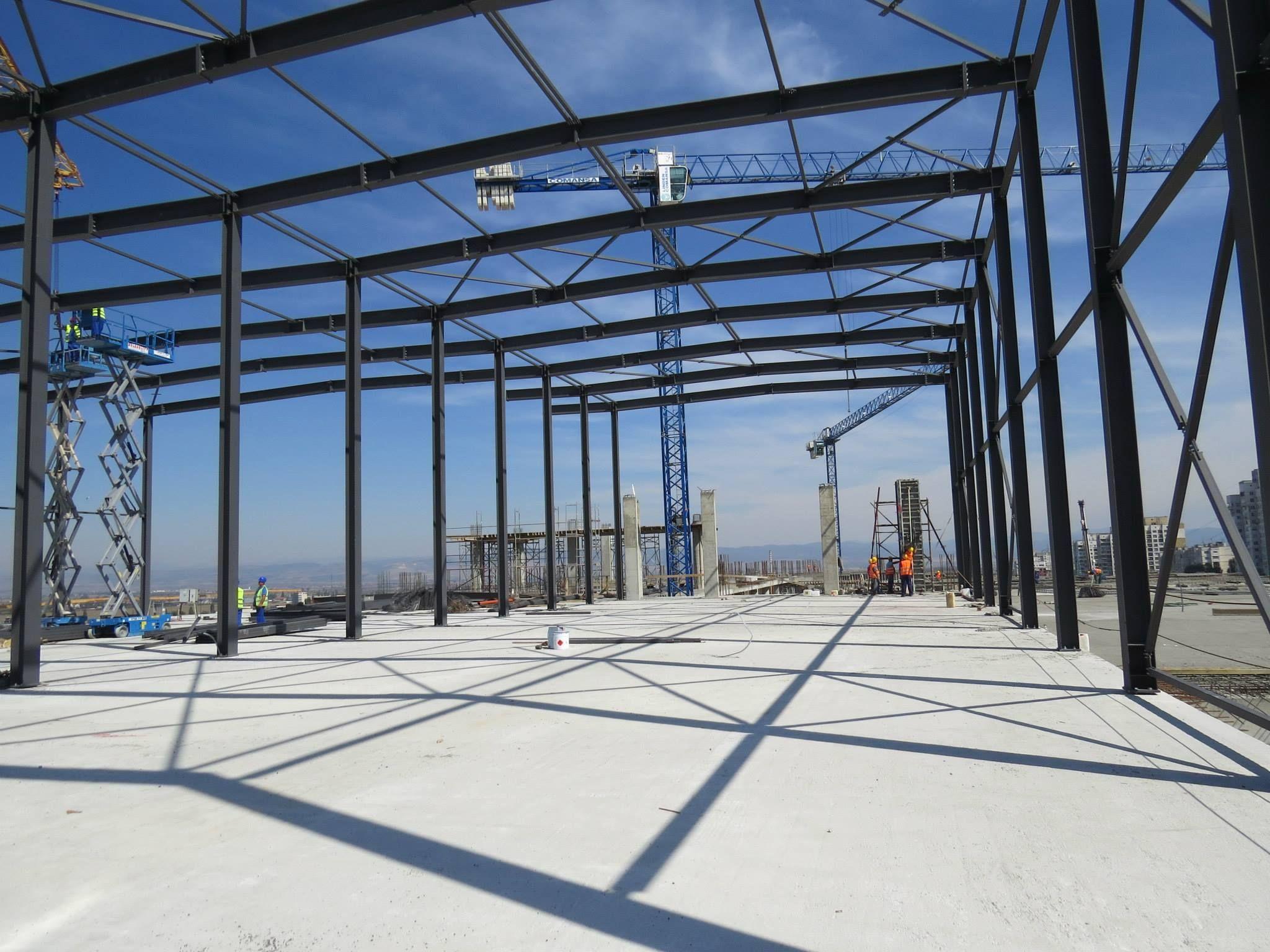 Steel Lattice Structure