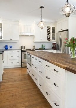 Butcher Block Countertops In The Kitchen Driven By Decor Diy