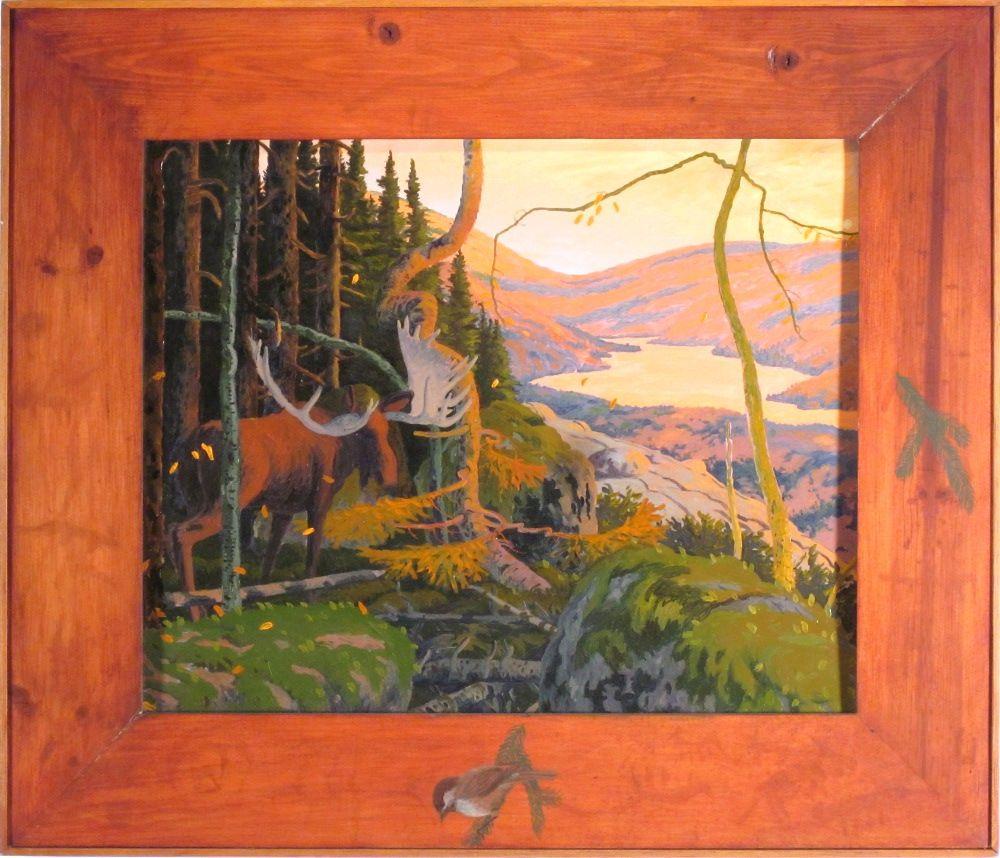 "Tom Uttech - ""Fitzgerald Lake"", 1985"