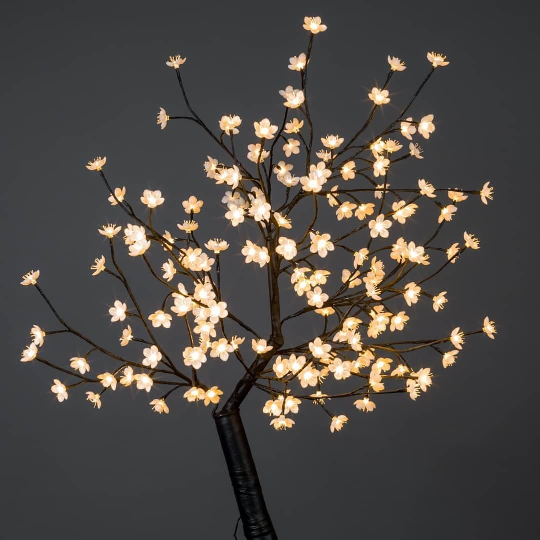 Outdoor Cherry Blossom Tree With 160 Warm White Led Lights Blossom Trees Cherry Blossom Tree Cherry Blossom Flowers