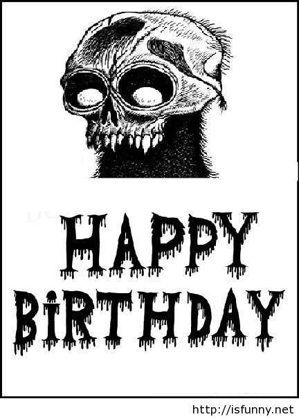 Scary Funny Happy Birthday Meme Isfunnynet Isfunnynet