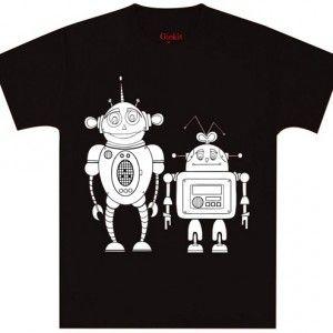 ROBOT t-paita sininen